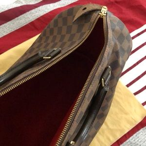 Louis Vuitton Bags - Louis Vuitton Speedy Damier Ebene 30 Brown